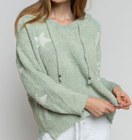 POL Clothing Starlight Berber Cozy Hoodie