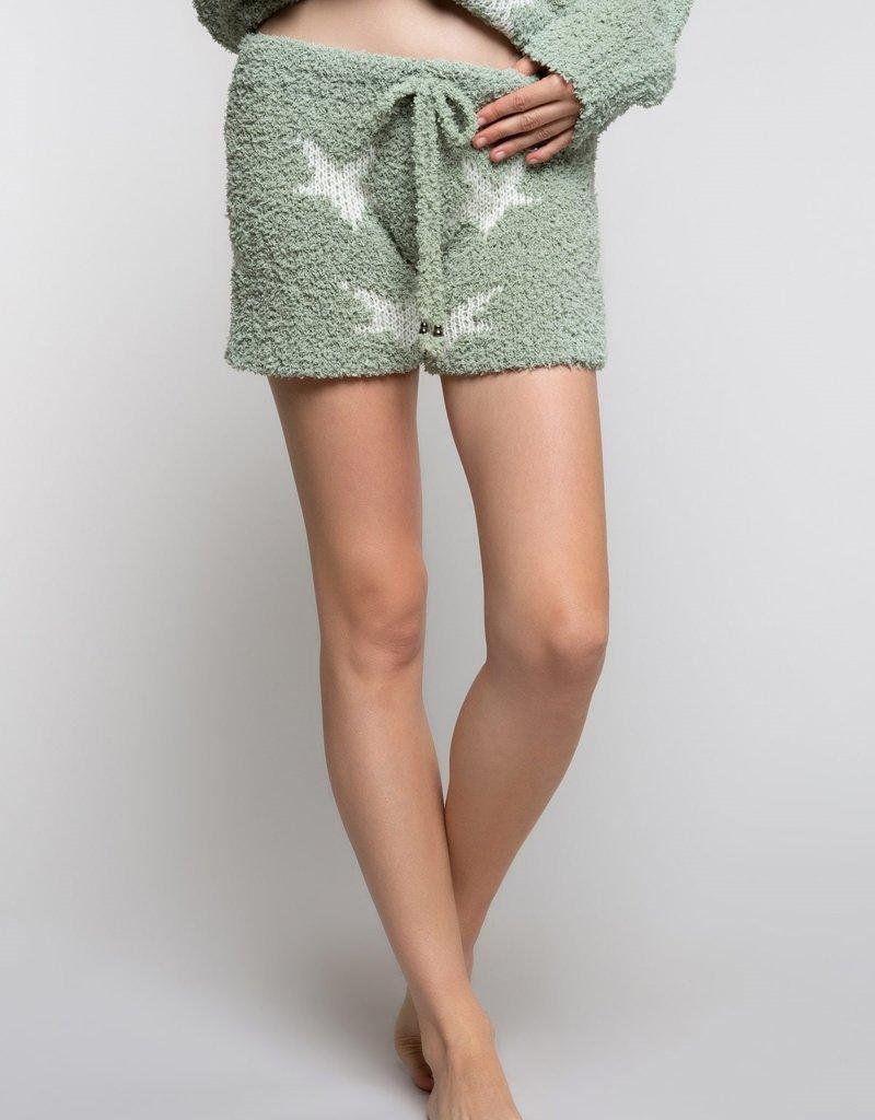POL Clothing Starlight Berber Cozy Short