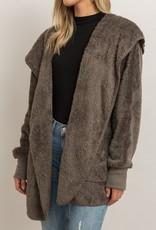 Hem & Thread Fuzzy Bear Coat