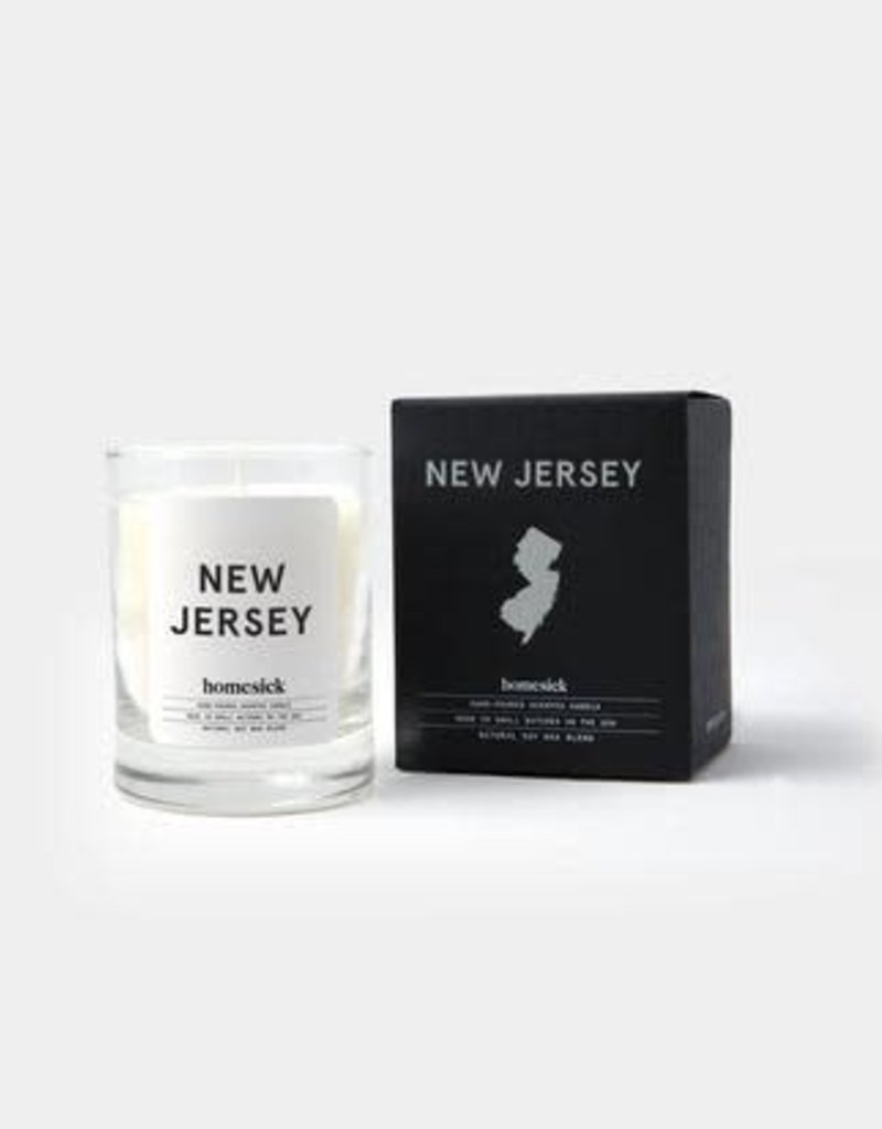 Homesick Candles New Jersey Mini Homesick Candle