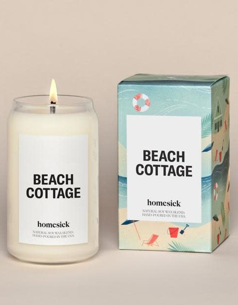 Homesick Candles Beach Cottage Homesick Candle