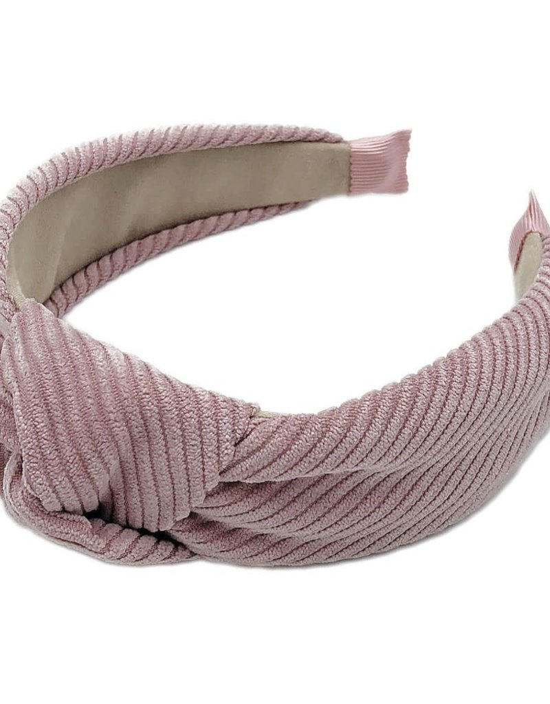 Judson & Co. Corduroy Knotted Headband