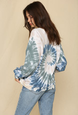 By Together Raglan Knit French Terry Spiral Tie Dye