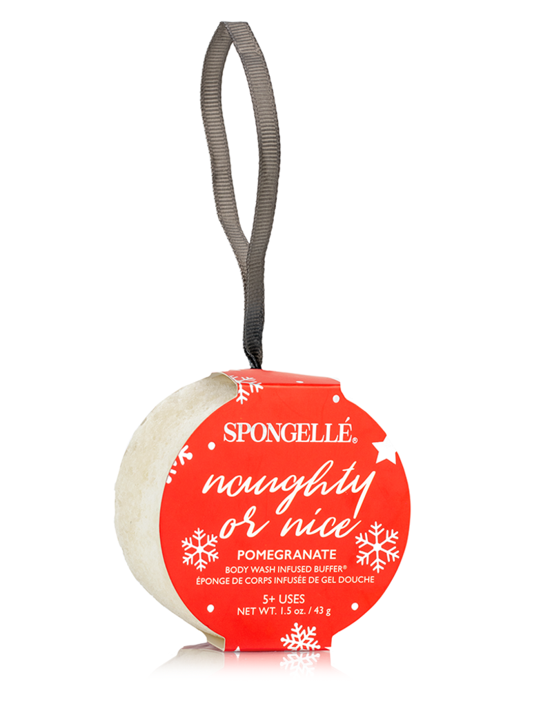 Spongelle Holiday Body Buffer Ornament