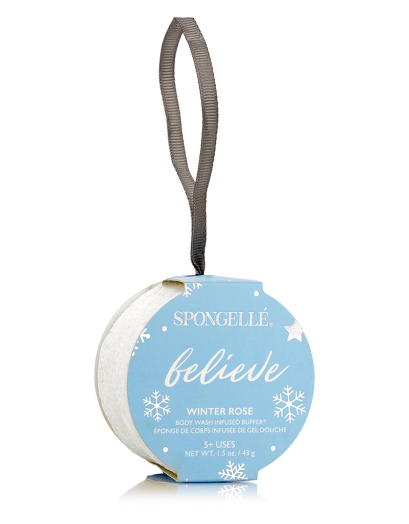 Spongelle Holiday Body Buffer Ornament