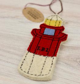 Art Studio Company Barnegat Lighthouse Wool Ornament