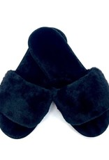 Judson & Co. Faux Real Plush Slipper (One Size 7.5-8.5)