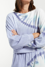 Z Supply Sunburst Tie Dye Sweatshirt