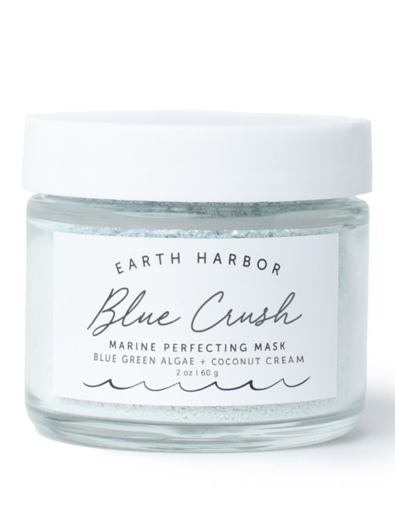Earth Harbor Naturals Marine Mask: Blue Green Algae + Coconut Cream