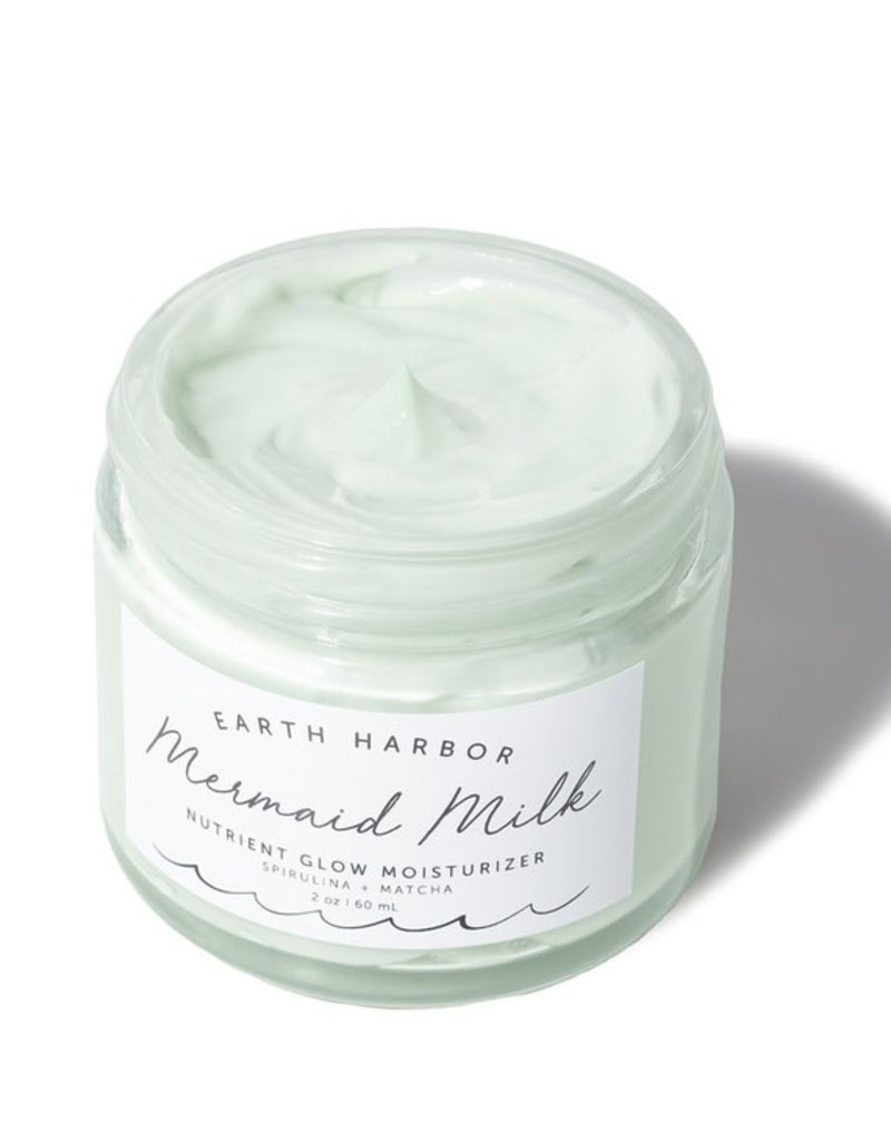 Earth Harbor Naturals Superfood Moisturizer: Matcha + Spirulina