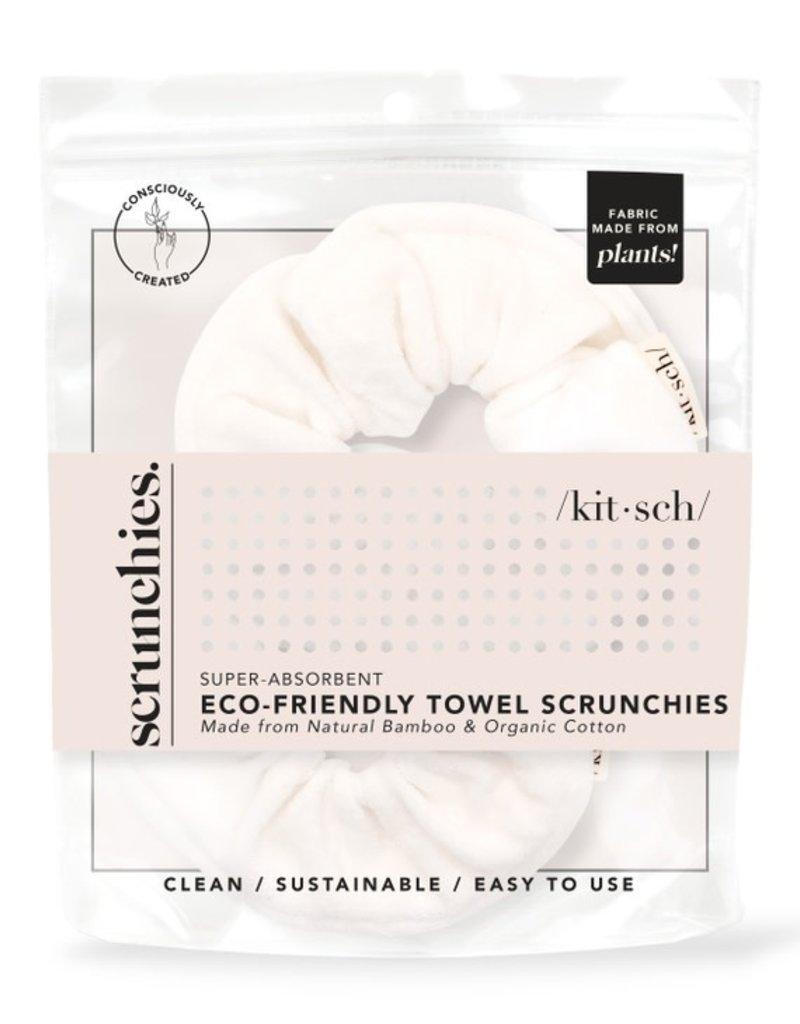 Kitsch Eco-Friendly Towel Scrunchies