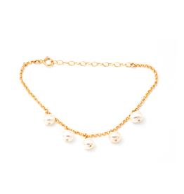 May Martin Five Pearl Bracelet