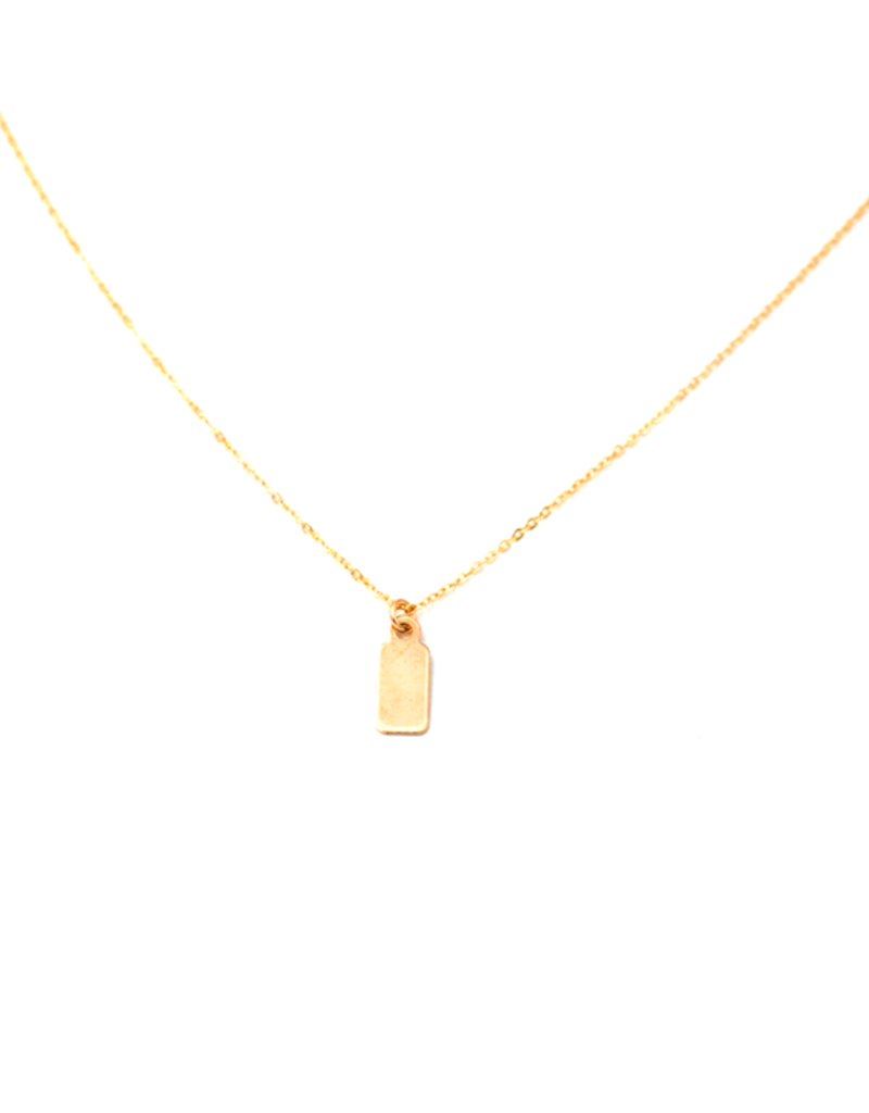 May Martin Tag Necklace