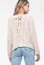 Blu Pepper Nova Knit Sweater Top