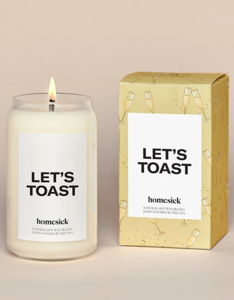 Homesick Candles Let's Toast Homesick Candle