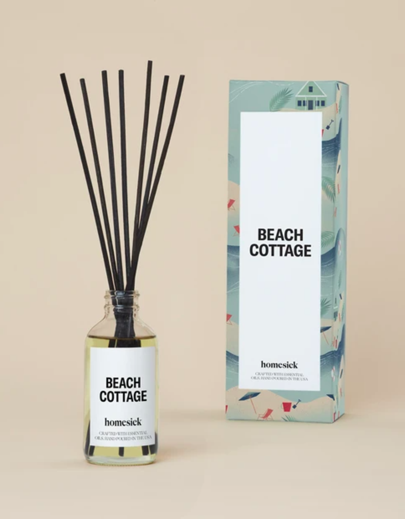 Homesick Candles Beach Cottage Reed Diffuser