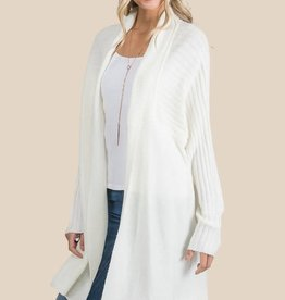 Allie Rose Textured Lines Cardigan