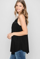 Allie Rose Ladder Trim Knit Cami