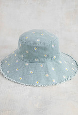 Natural Life Embroidered Bucket Hat | Daisy