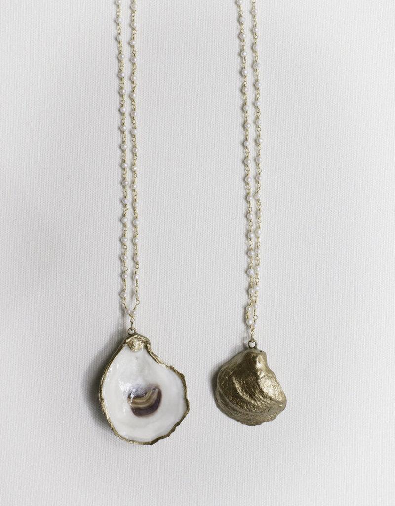 Grit & Grace Petite Oyster Necklace