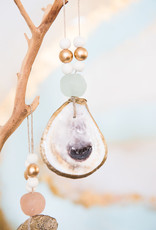 Grit & Grace Oyster Shell Ornament / Napkin Ring