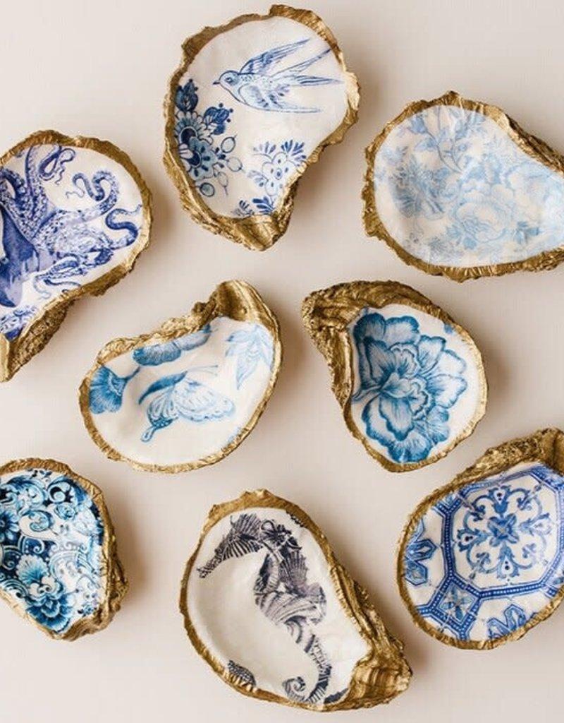 Grit & Grace Decoupage Oyster Dish | Octopus