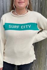 Binghamton Knitting Surf City Roll Neck Sweater | Jade
