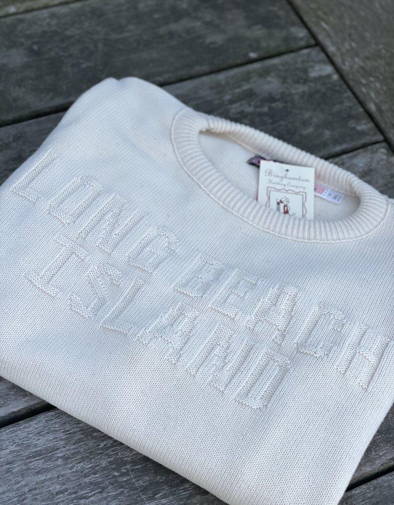 Binghamton Knitting LBI Tonal Crewneck Sweater