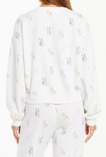 Z Supply Noa Make Peace Sweatshirt