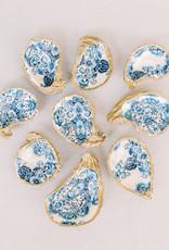 Grit & Grace Decoupage OysterJewelry Dish | Indigo Prints