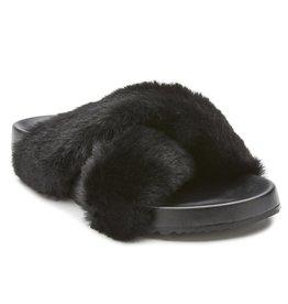 Matisse Footwear Seasons Faux Fur Slide Slipper  