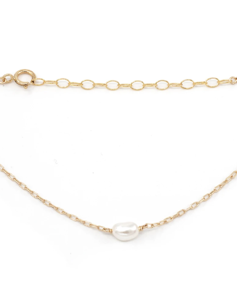 May Martin Poppy Pearl Bracelet