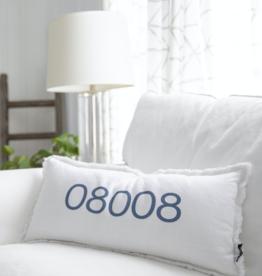 Wildwood Landing LBI Zip Code Lumbar Pillow