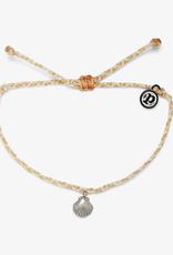 Pura Vida La Concha Charm   Silver Bracelet