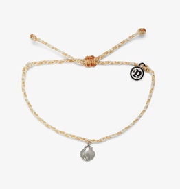 Pura Vida La Concha Charm | Silver Bracelet