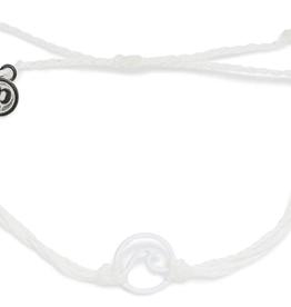 Pura Vida Enamel Wave White Bracelet