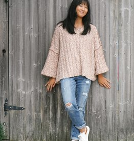 By Together Kyra Oversized Knit Sweater