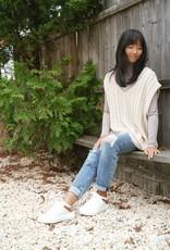 By Together Caroline Cable-Knit Oversized Sweater Vest