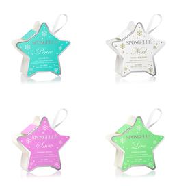Spongelle Holiday Stars Body Wash Infused Buffer