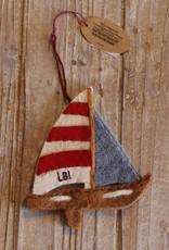Art Studio Company LBI Wool Ornament