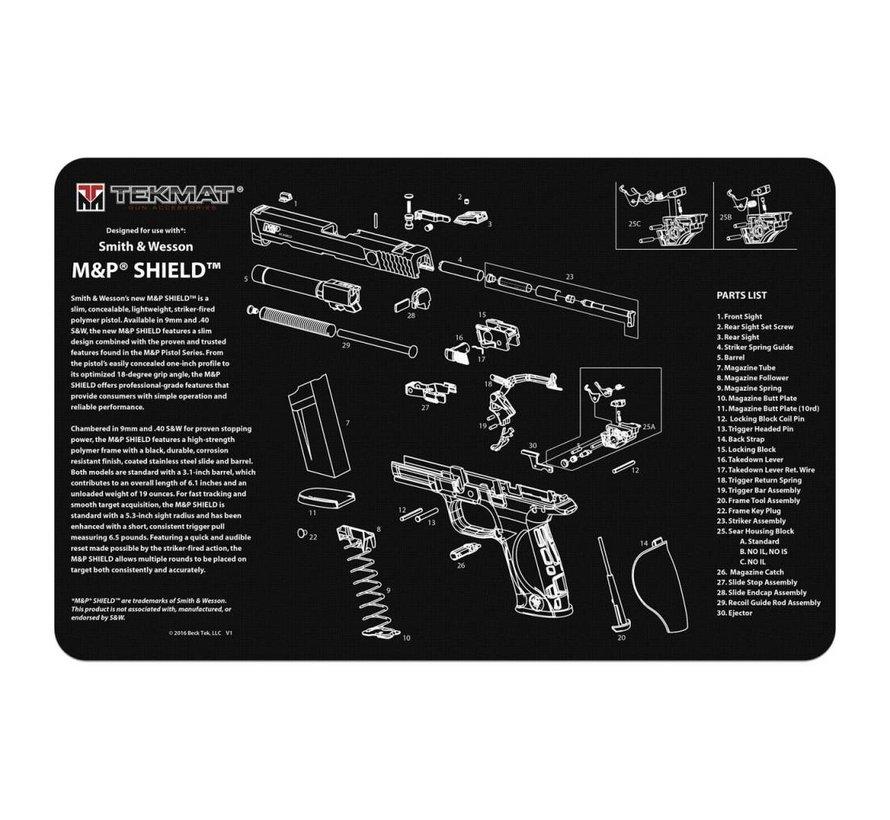 TekMat M&P Shield Gun Cleaning Mat