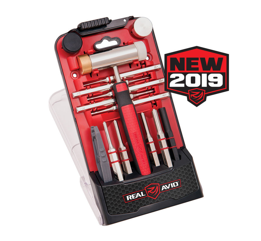 Real Avid Accu-Punch Hammer and Roll Pin Punch Set