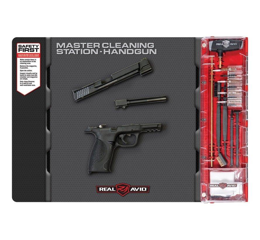 Real Avid Handgun Master Cleaning Station