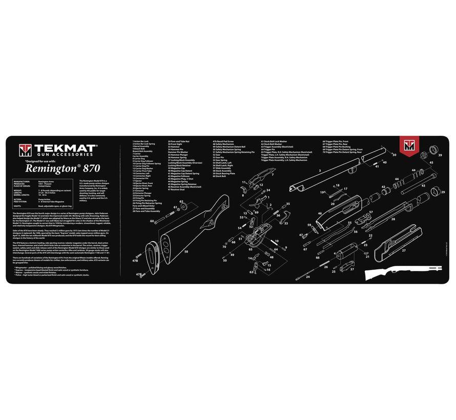 TekMat Remington 870 Shotgun Cleaning Mat