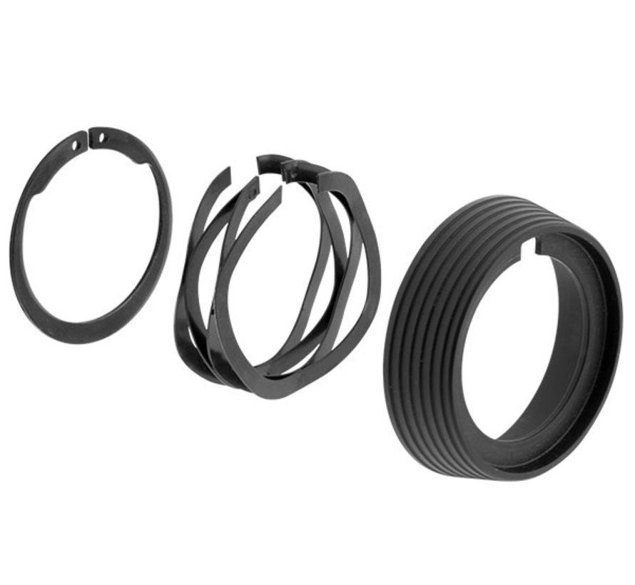UTG Standard AR-15 Delta Ring Assembly (Black)
