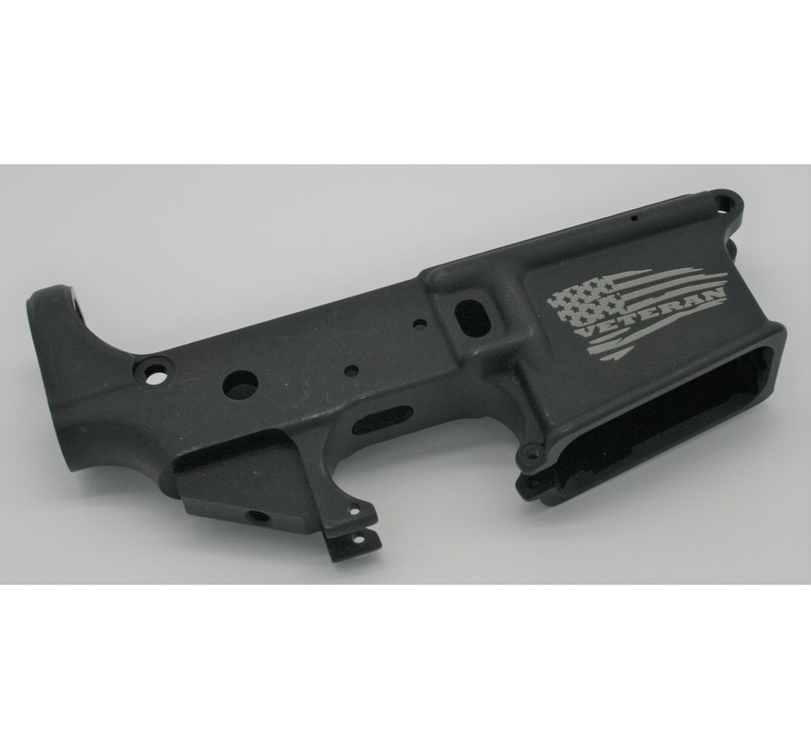 Anderson Manufacturing AR-15 Stripped Lower Receiver | Veteran