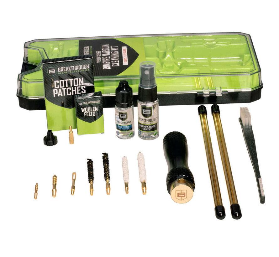 Breakthrough Clean - Vision Series Rimfire Airgun Cleaning Kit - .17 Cal / .22 Cal