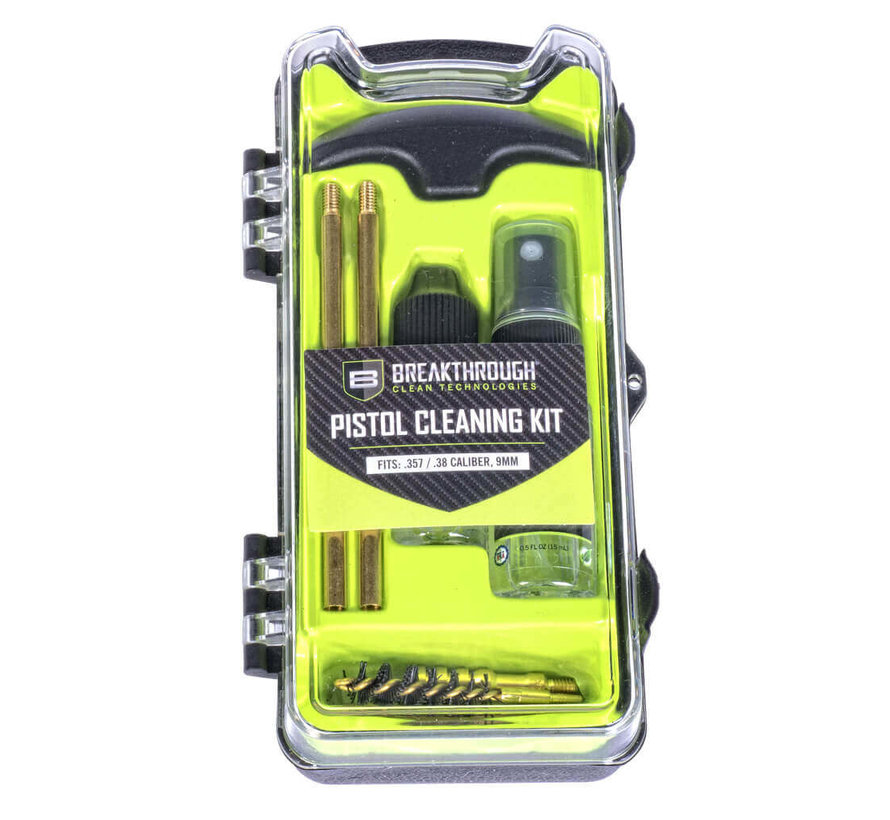 Breakthrough Clean - Vision Series Pistol Cleaning Kit - .357 Cal / .38 Cal / 9mm