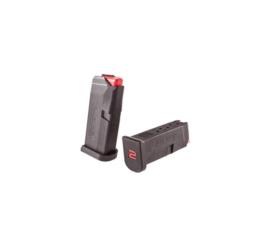 Amend2 Glock 43 6 Round Magazine (Black)