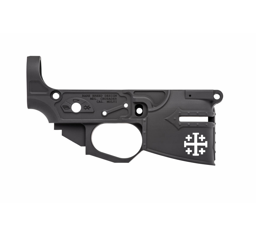 Spike's Tactical AR-15 Billet Lower | Rare Breed Crusader CH01413